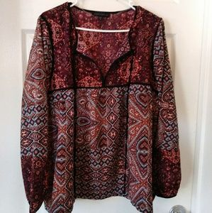 "Sanctuary Printed Tunic🍂🍃 "" NWOT"""